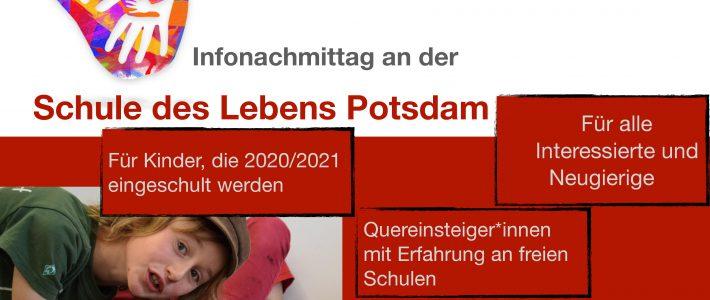 18.01.2020 – Infonachmittag für Schulstart 2020/21 und Quereinsteiger*innen
